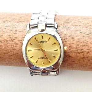 Geneva Luxury Quartz Water Resistant Watch Set